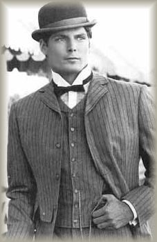Christopher Reeve - Somewhere in Time.  My all-time favorite movie!