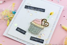 A Party Without Cake is Just A Meeting Card Close-Up by Taheerah Atchia