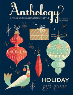 love the Anthology Holiday Guide cover