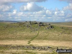 Walk Picture/View: Roos Tor from Great Staple Tor in Dartmoor, Devon, England by Pete Smith (4)