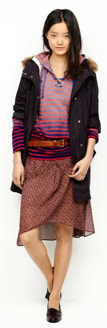 Another cute outfit for fall, from Madewell #fall