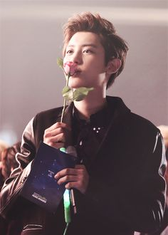 He should give me that flower.