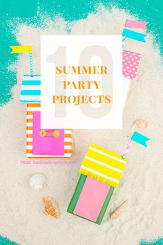 10 DIY Summer Party Crafts & Project Ideas