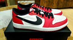 low priced e7282 03dc1 Air Jordan 1 Retro Low OG  Chicago  705329-600 www.authenticjordansair.com