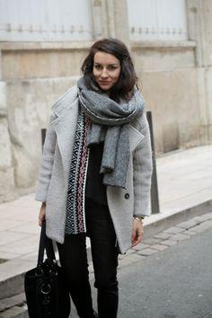 Le bazar d'Alison - Blog Mode d'une Lyonnaise: Le kimono d'Hiver