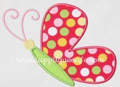 Butterfly 2 Applique Design