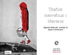 Textos narratius by Guida Allès Pons via slideshare Abc Activities, Teaching, Writing Ideas, Creative Writing, Atelier, Accessories, Reading, Storytelling