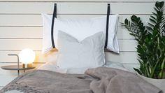 Mjuk sänggavel som du enkelt kan göra själv. Äntligen Hemma