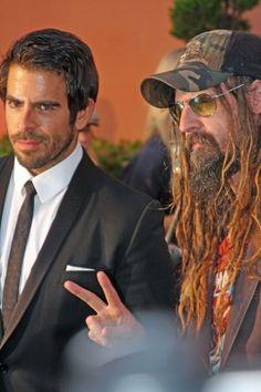 Eli Roth with Rob Zombie. Halloween Horror Nights Universal Studios. Hollywood
