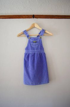 Vintage Oshkosh B'Gosh corduroy overall dress  Check out this item in my Etsy shop https://www.etsy.com/listing/561653799/vintage-oshkosh-bgosh-overall-dress-size