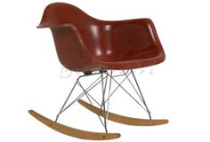 RAR chair brown designed by Charles Eames 1950. Available to hire from  http://www.hipprops.com/Eames,_Charles/RAR_chair_brown #CharlesEames