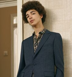 4. One Button Suit
