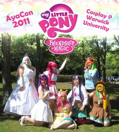 My Little Pony Cosplay group by sonialeong.deviantart.com