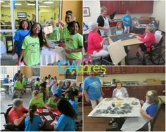 Last month our school-age children from Creative World School Rivercrest and Creative World School FishHawk had a blast at Bridges Assisted Living Facility! They made holiday cards to ring in the New Year and shared a light morning snack.