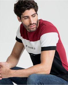 RIFLE Tienda Online | Ropa Hombre | Camisetas Estampadas Boys T Shirts, Tee Shirts, T Shart, Polo Shirt Outfits, Leopard Print Shorts, Funny Tees, Mens Clothing Styles, Mens Fashion, Rifle