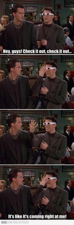 so chandler slaps him