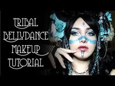 Dance of the Muse — Tribal Bellydance MakeUp Tutorial