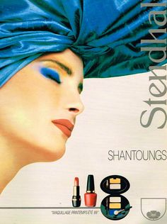 Stendhal Cosmetics Ad, France 1988
