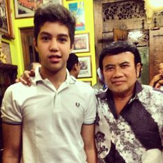 El rumi and bang haji rhoma irama =))