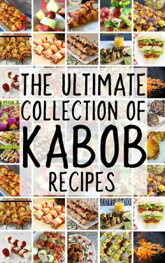 The Best Kabob and Skewer Recipes for Breakfast Lunch Dinner and Dessert! - The Best Kabob and Skewer Recipes for Breakfast Lunch Dinner and Dessert! Informations About The Bes - Steak Kabobs, Fruit Kabobs, Shish Kabobs, Dessert Skewers, Chicken Kabobs, Bbq Chicken, Bbq Skewers, Hawaiian Chicken, Greek Chicken