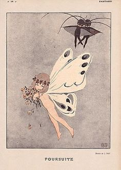 Fantasio,  Illustration by Jean Ray,  1917