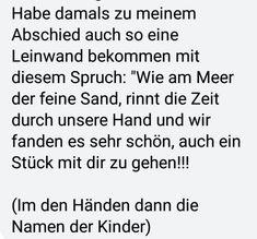 Am Meer, Names