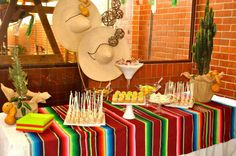 fiesta mexicana candy station