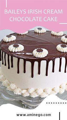 Chocolate Cake, Baileys Irish Cream, Unsweetened Cocoa, Cupcake Cakes, Cupcakes, Baking Soda, Sweets, Desserts, Pie