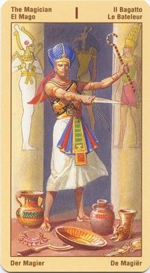 Magician from the Ramses: Tarot of Eternity