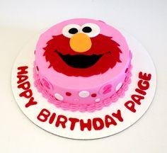 Elmo Smash Cake on Cake Central Milani Turns ONE Pinterest