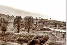 Altunizade'den Küçük Çamlıca'ya giden yolu 1940'lı yıllar..