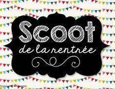 Scoot de la rentrée! http://laclassedekarine.blogspot.ca/