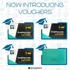 Today we launch another avatar to access unlimited knowledge. With TestPitara's 'new' vouchers, we bring you one more step closer to some of the best courses on the Internet. #KnowledgeForAll #EducationForAll #TestPitara #Vouchers