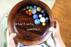 a happy wanderer: exploring with marbles...