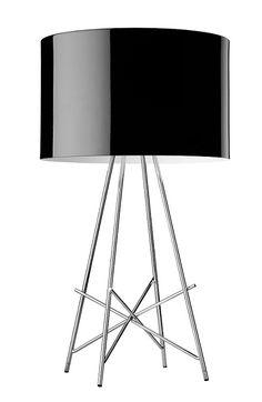 FLOS Design Tischleuchte Ray T von Flos - Höhe 67 cm - mit Dimmer - in Schwarz Ray 1x 150 Watt, schwarz F5911030 Jetzt bestellen unter: https://moebel.ladendirekt.de/lampen/tischleuchten/beistelltischlampen/?uid=821128d7-d473-5656-88d3-67dd2ea65c81&utm_source=pinterest&utm_medium=pin&utm_campaign=boards #leuchten #lampen #tischleuchten #beistelltischlampen Bild Quelle: www.wohnlicht.com