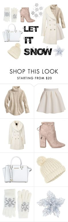 """""""Style for winter #fashion #style #winter #christmas #christmasfashion"""" by savirafianiesa ❤ liked on Polyvore featuring Kendall + Kylie, Accessorize and Fits"""