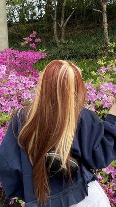 Hair Dye Colors, Hair Color, Dying My Hair, Hair Streaks, Aesthetic Hair, Grunge Hair, Hair Day, Hair Inspiration, Hair Inspo