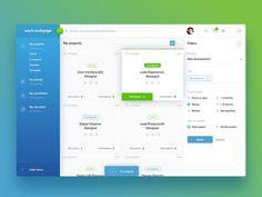 Dashboard for HR service