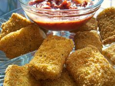 Curts Delectable Creations: Fried Provolone Recipe