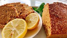 Bolo de Limão e Canela - Sem Glúten, Sem Lacticínios | Mamã Paleo Paleo, Keto, Bolos Light, Brunch, Sem Lactose, Banana Bread, Low Carb, Gluten, Baking