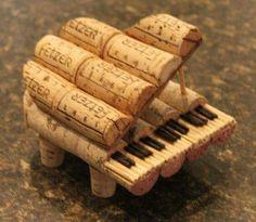 Cork piano
