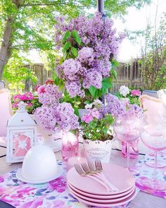.#InTheGarden #PeacefulMoments #Lilacs #PinkEverything #DiningAlfresco #PinkLovers #BHGHome #MySouthernLiving #CottagesAndBungalows #TheCottageJournal #ShabbyChicStyle #Bouquets #FloralDesigner #PartyStylist #tablescapes #SetTheTable #PurpleFlowers #inspire_me_home_decor #GardenLovers #VictoriaMagazine #SouthernLadyMag #MyCountryHome #cottagestyle #rusticchic #HouseBeautifulHome #MyHouseBeautiful #TheDesignTwinsLoveSpring #DailyDecorDistraction #ExteriorDesigns #mygardenlife Spring Is Here, Spring Home, Shabby Chic Style, Rustic Chic, Victoria Magazine, Cottages And Bungalows, Inspire Me Home Decor, Cottage Style, Purple Flowers