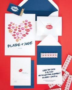 """See the """"Creative Kiss Invitation Suite"""" in our  gallery"""