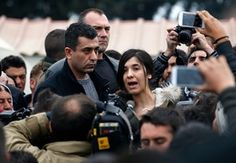 Isis survivor says UK could save lives of Yazidi women by admitting refugees - Nadia Murad, who escaped sexual enslavement by Islamic State, urges UK to follow Germany in offering refuge to Yazidi women and girls persecuted in Iraq