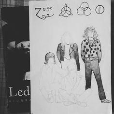 Zeppelin - Uma ótima inspiração para desenhar. Em andamento!