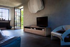 Ethnicraft Oak Shadow TV cupboard #livingroom #furniture #solidoak