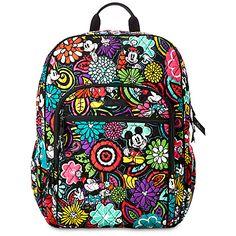 cb648ec186d Mickey s Magical Blooms Campus Backpack by Vera Bradley Vera Bradley Disney