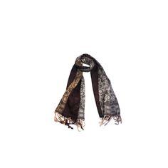 Pashmina Circulos Marrom e Bege de Viscose #pashmina #pashimina #modafeminina #fashion #scarf #scarfs