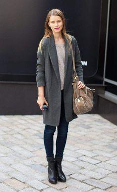 2014冬ファッションは「グレー」がなくては始まらない。賢いオンナが「グレー」に夢中な理由とは | U-NOTE【ユーノート】