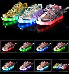 e8681fbd42fd De 23 beste bildene for LED-sko til barn